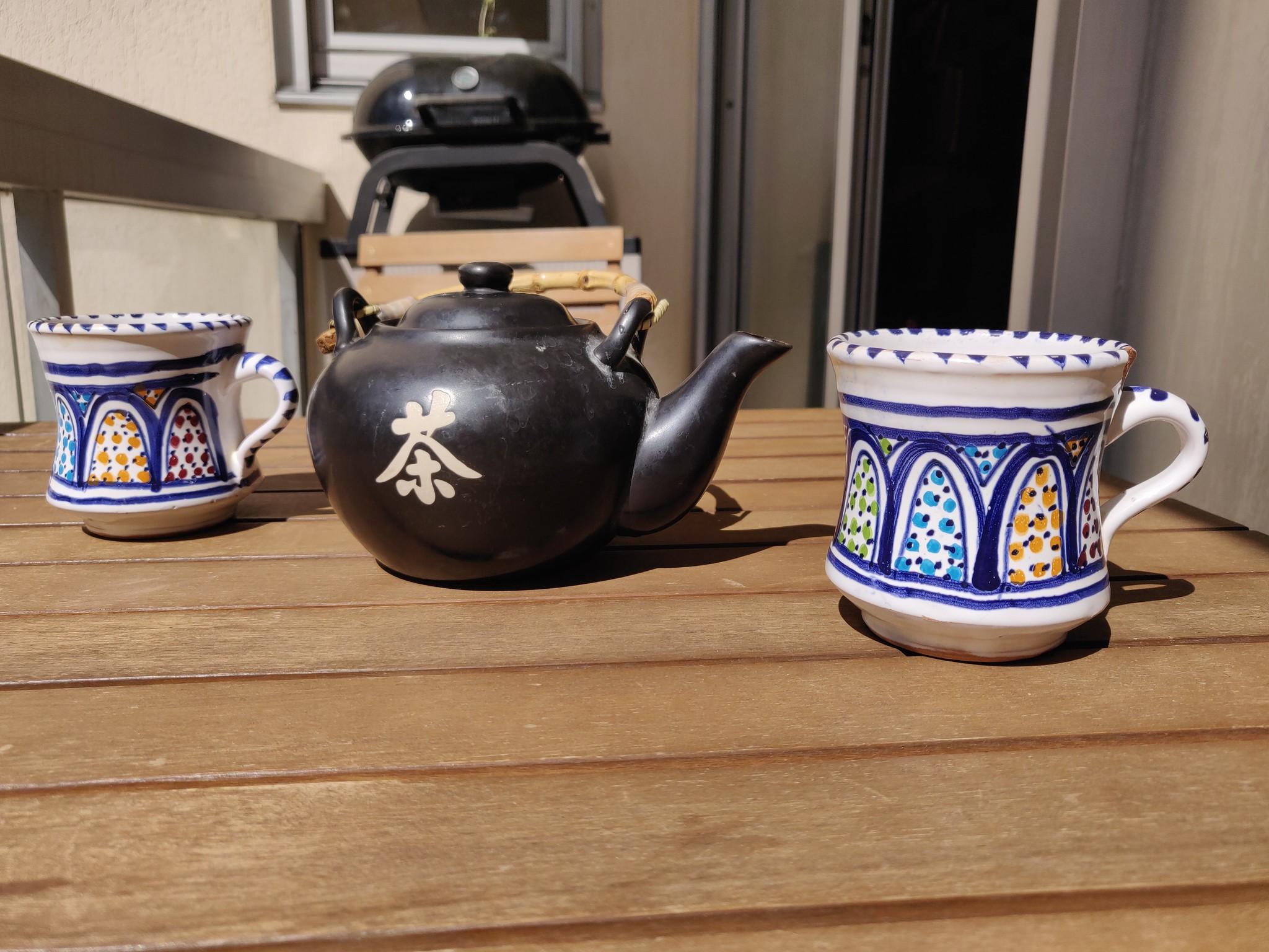 La pause pour prendre le thé au bon moment - confinement 2020